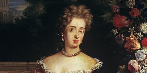 Porträt der Markgräfin Sibylla Augusta von Baden-Baden; Foto: Staatliche Schlösser und Gärten Baden-Württemberg, Arnim Weischer