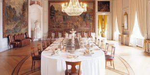 Innenaufnahme von Barockschloss Mannheim